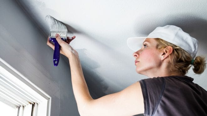 How To Paint A Ceiling After Removing Popcorn