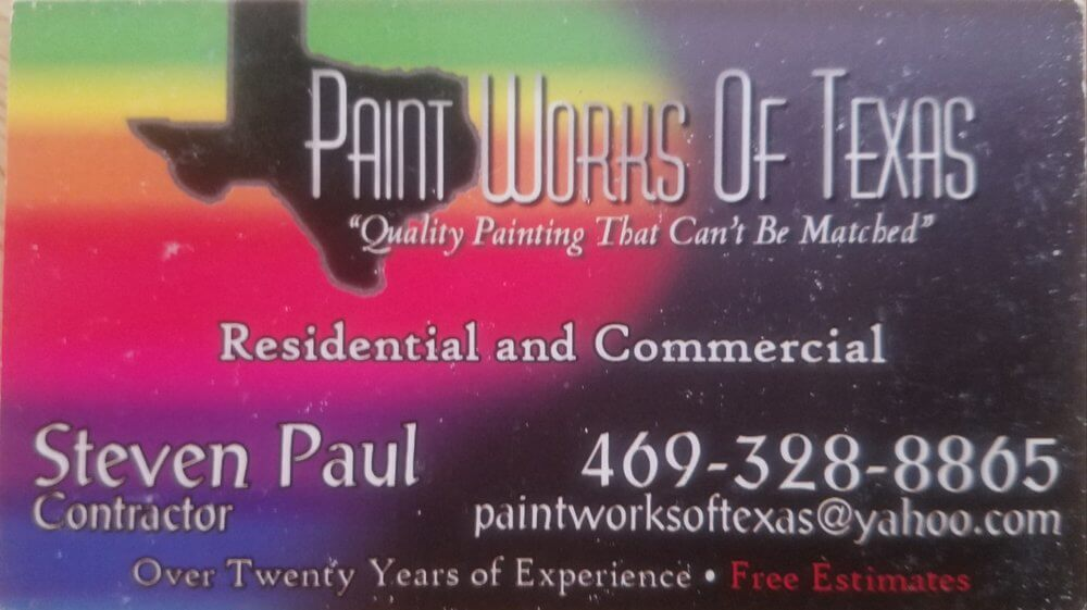 Top Ten Painting Contractors - PaintWorks of Texas