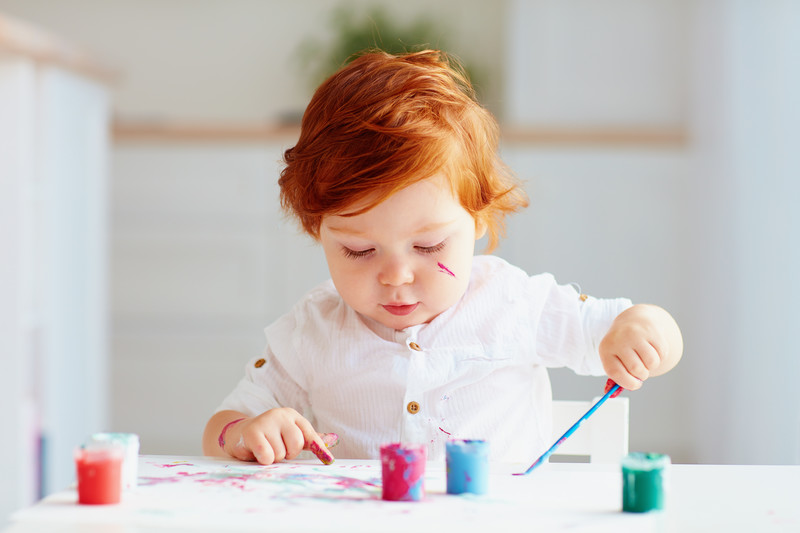 Is Acrylic Paint Safe for Babies Skin