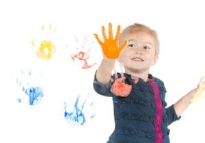 Can You Use Acrylic Paint For Baby Handprints