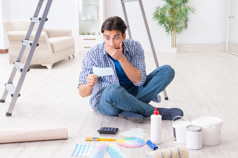 The Average Cost of Interior Painting per Square Foot