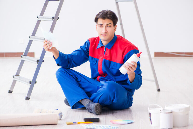 What does Interior Painter charge for their Job?