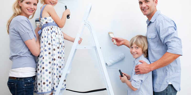 How to Paint a Wall in an Easy Way